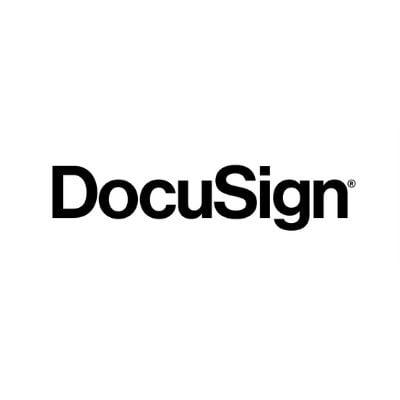 Logo de DocuSign para firmas electrónicas