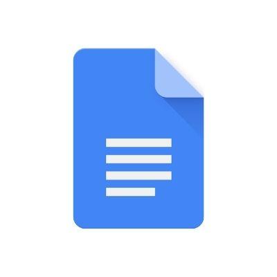 Logo de Google Docs