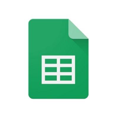Logo de Google Sheets