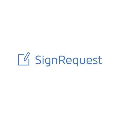 Logo de SignRequest para firmas electrónicas