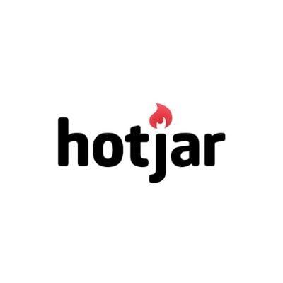 Logo de Hotjar para marketing y CRO