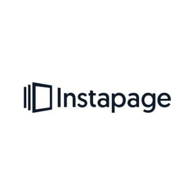 Logo de Instapage para marketing