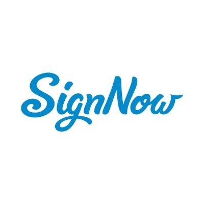 Logo de SignNow para firmas electrónicas