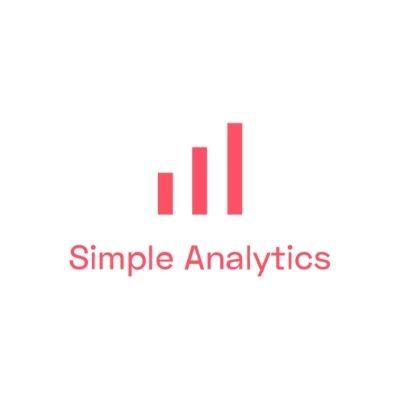 Logo de Simple Analytics para marketing