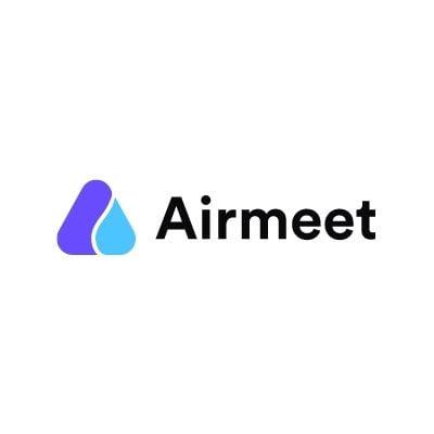 Logo de Airmeet