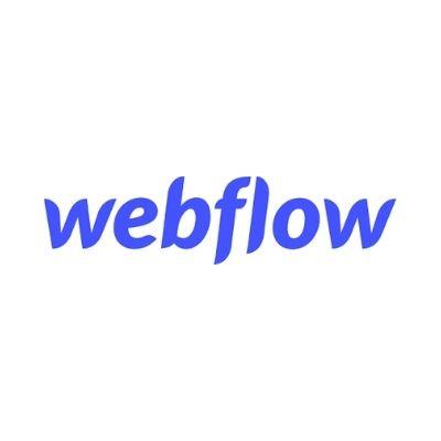Logo de Webflow para desarrollo web