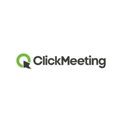 Logo de ClickMeeting para webinars