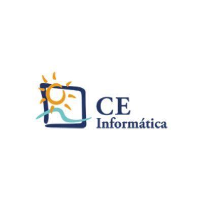 Logo de CE Informática para contabilidad