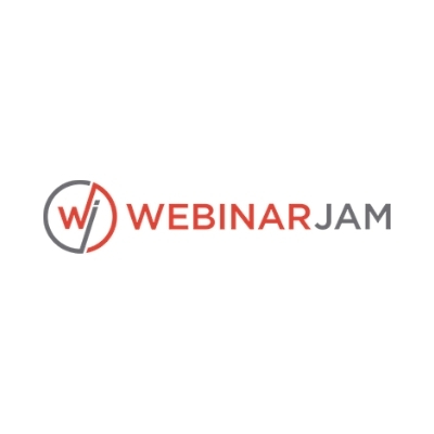 Logo de WebinarJam para webinars