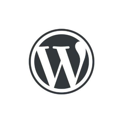 Logo de WordPress para sitios web
