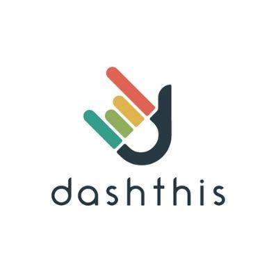 Logo de DashThis para reportes de marketing